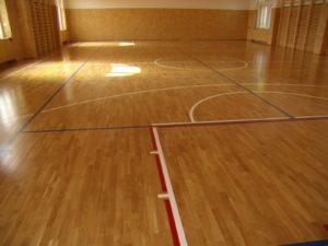 Sportovní podlaha Velvary