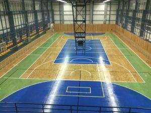 Rekonstrukce sportovní podlahy Ostrava