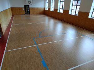 Rekonstrukce sportovní podlahy Rosice u Brna