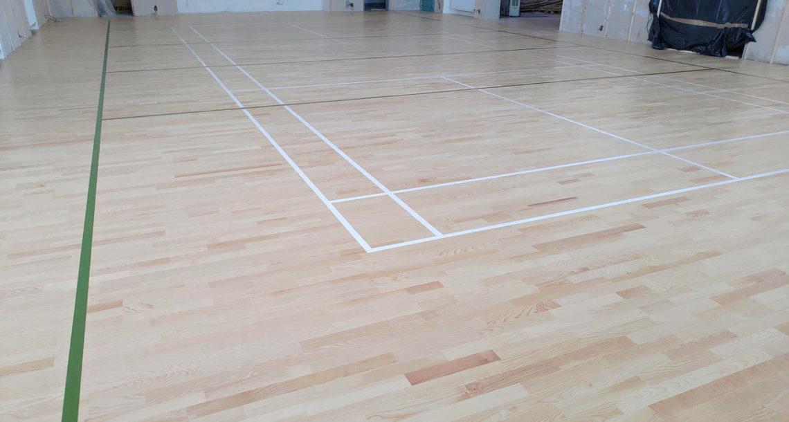 Sportovní podlaha BOEN Mrsklesy