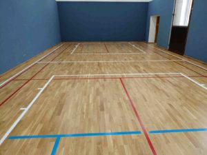 Sportovní podlaha Horní Cerekev