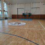 Renovace sportovní podlahy broušením