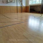 Rekonstrukce sportovní podlahy Čkyně