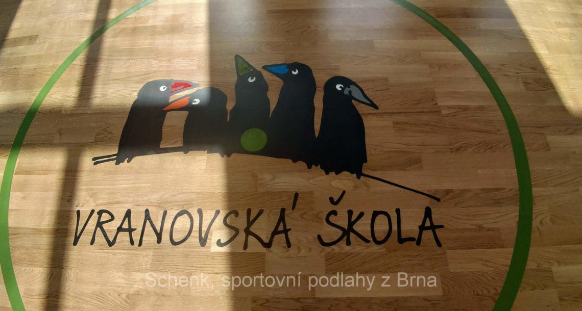 Sportovní podlaha BOEN, ZŠ Vranov u Brna