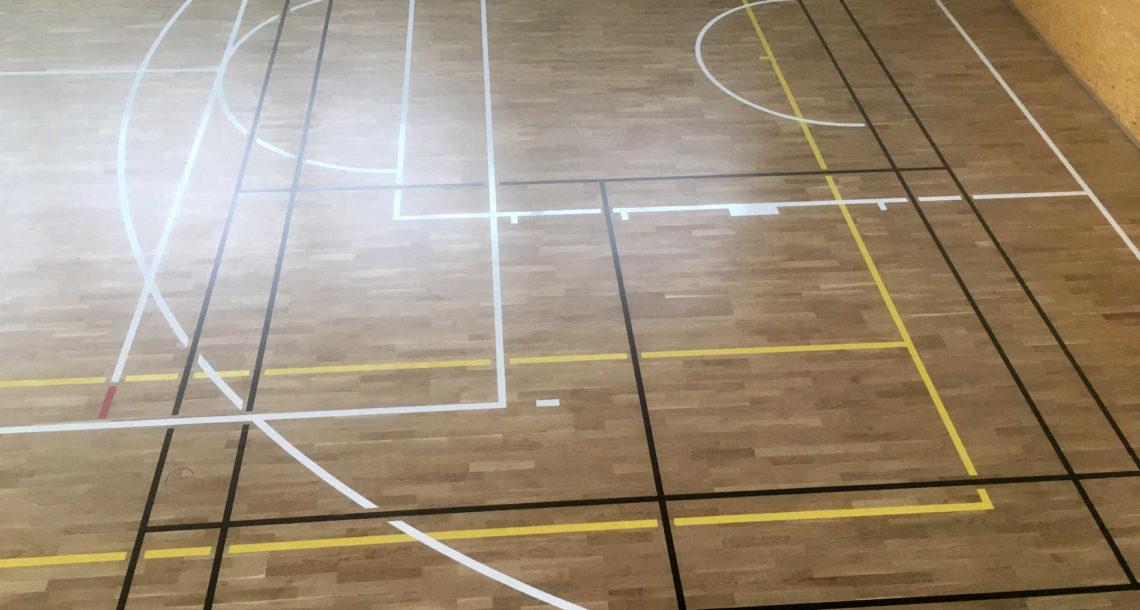 Sportovní podlaha BOEN, Vřesina u Opavy