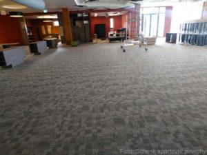 Podlahy Bowling Brno - nové podlahy