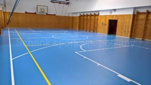 Rekonstrukce podlah ZŠ Hlinecká